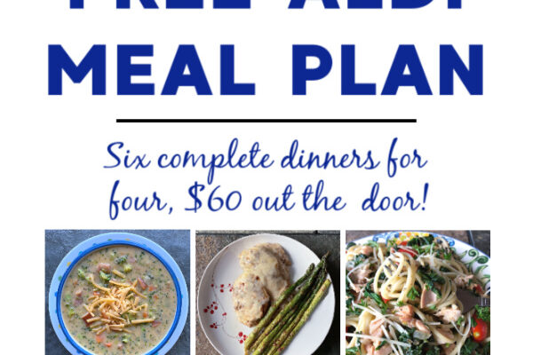 Mashup Mom ALDI Meal Plan week of 3/7/21
