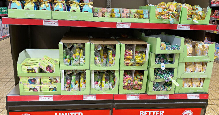 Top 25 ALDI Finds week of 3/10/21 – Easter candy, spring gnomes, & more!