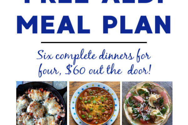 Mashup Mom ALDI Meal Plan week of 4/11/21