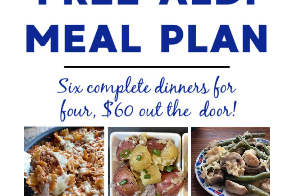 Mashup Mom ALDI Meal Plan week of 4/18/21