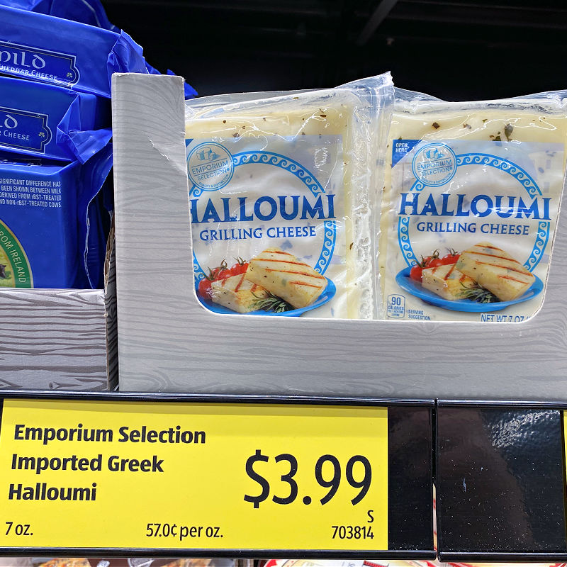 aldi grilling cheese for $3.99