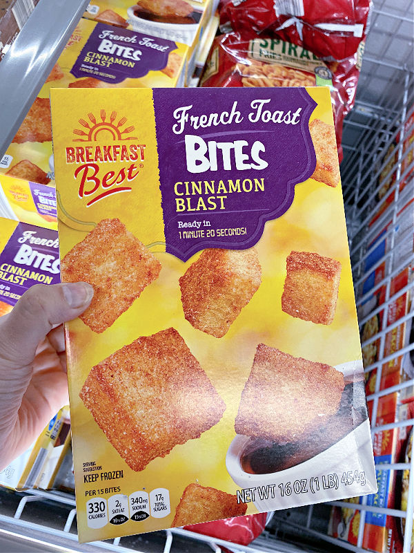 french toast bites in aldi finds