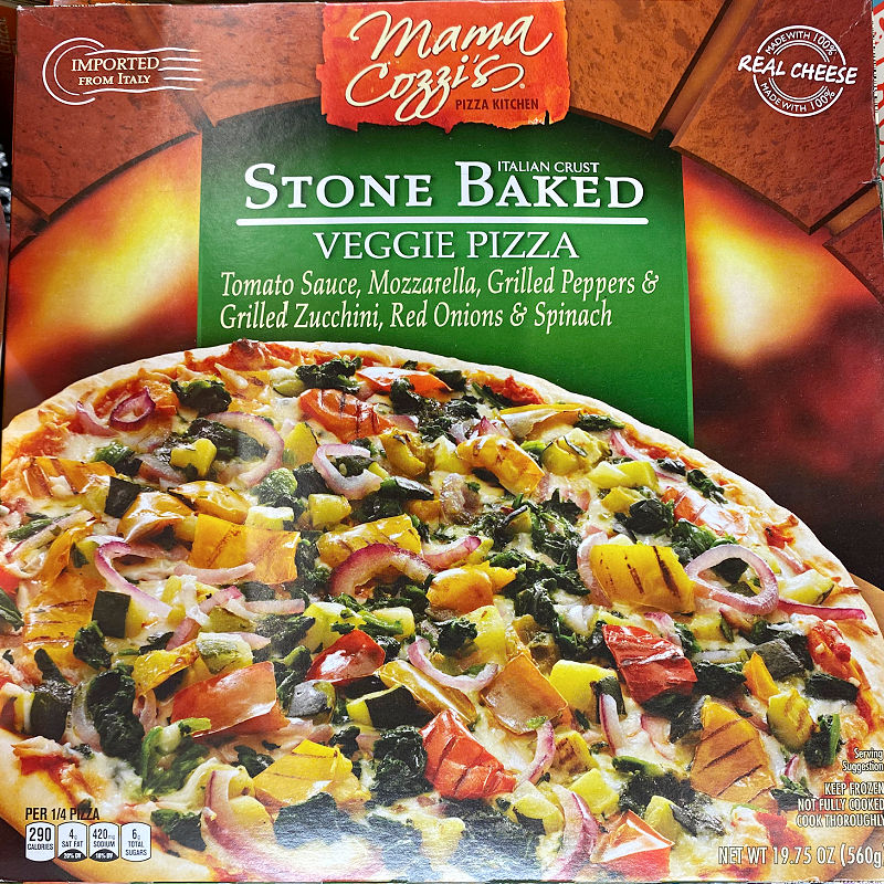 stone baked pizza at aldi